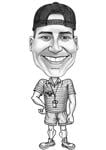 Coach Caricature example 6