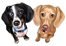 Pets Caricatures example 19