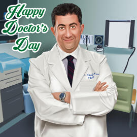 Doctor Caricature