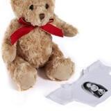 Bride Caricature from Photos on Teddy Bear