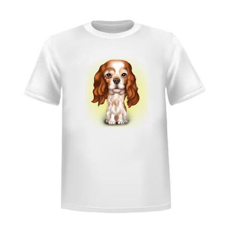 Funny Pet Tshirt with Caricature - example