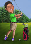 Sports Caricatures example 22