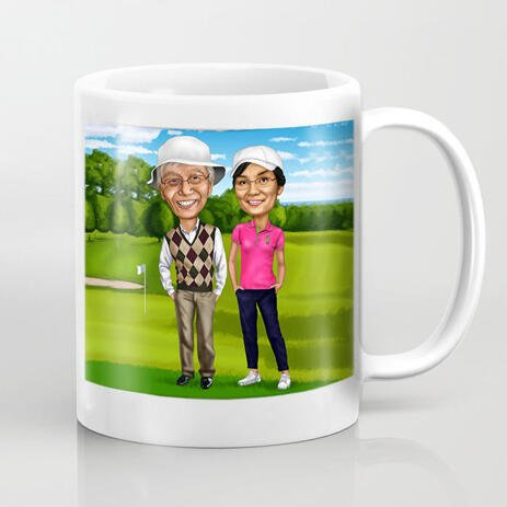Couple Gift - Personal Love Mugs - example