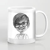 Kid Caricature Mug from Photos