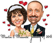 Caricatures Saint Valentin example 21