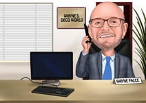Boss Day Caricature example 12