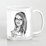 Custom Cartoon on Mug from Photo