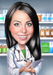 Caricature Business Card example 9