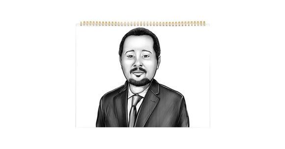 Corporate Portrait on Calendar