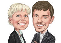Caricatures for Business example 9