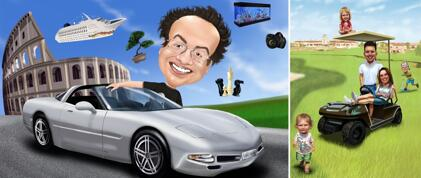 Vehicle Caricatures