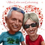 Caricatures Saint Valentin example 6