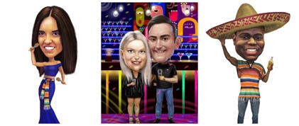 Caricatures for Party