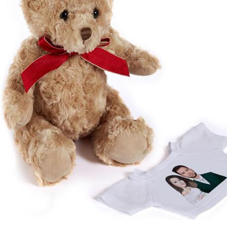 Wedding Caricature on Teddy Bear - example