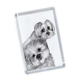 Dogs Portrait on Printed Magnetes
