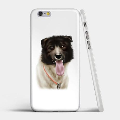 Dog Portrait from Photos on Case - example