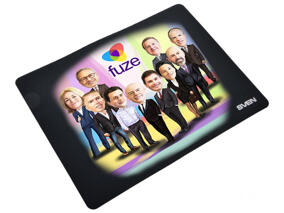 Employees Caricature on Mouse Mat