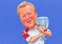 Sports Caricatures example 6
