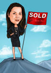 Realtor Caricature example 24