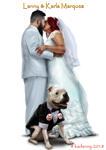 婚礼漫画 example 1