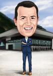 Caricatures for Business example 8