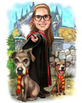 Pets Caricatures example 39