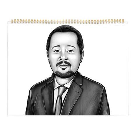 Corporate Portrait on Calendar - example