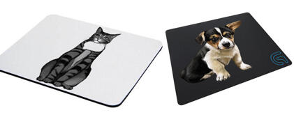 Pet Drawing Mouse Mat