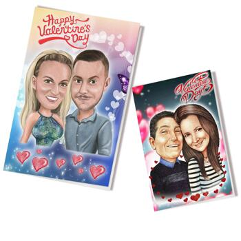 Valentinsdagkort