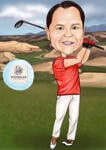 Caricatura de golf example 15