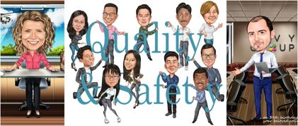 Karikaturen voor het bedrijfsleven