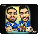 Custom Caricature for Business on Mouse Mat