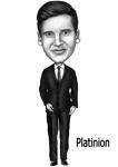 Business Caricature Poster example 14