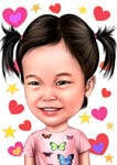 Kids Caricatures example 2