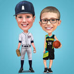 Kids Caricatures example 14