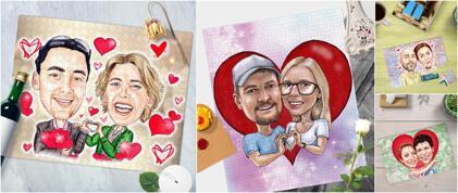 Romantic Puzzles Gift