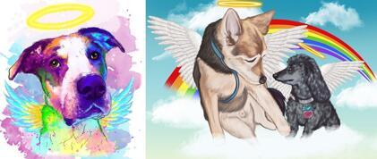 Memorial Dog Portrait